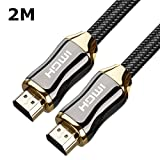 MECO High Speed HDMI Cable 3 Feet/6 Feet Rankie 6ft Latest Standard HDMI