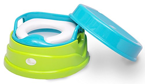 R for Rabbit Convertible 4 In 1 Potty Training Seat (Green)
