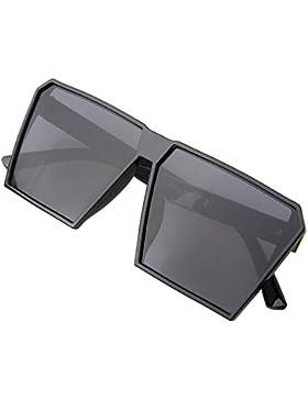 Hombre Grande Gafas De Sol Marco Cuadrado Moda Oversized Gafas Unisexo - BLDEN