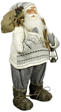 MONOPOL 33086 Weihnachtsmann 'Ulf', 80 cm