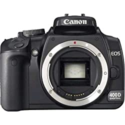 Canon EOS 400D Appareil photo numérique Reflex 10.1 Mpix Boîtier nu Noir