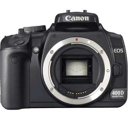 Canon EOS 400D 10.5MP CMOS 3888 x 2592Pixel Nero