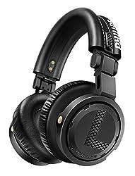 Philips A5-PRO/00 DJ Kopfhörer von Armin van Buuren (3500mW RMS, austauschbare Ohrpolster und Caps, innovativer Faltmechanismus), schwarz