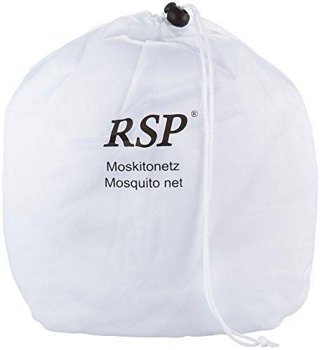 Das NEU noch grössere Moskitonetz Travel XXXL - für Doppelbetten 200x200 cm - das Original von RSP ® 0,6 x 3,0 x 13,5m