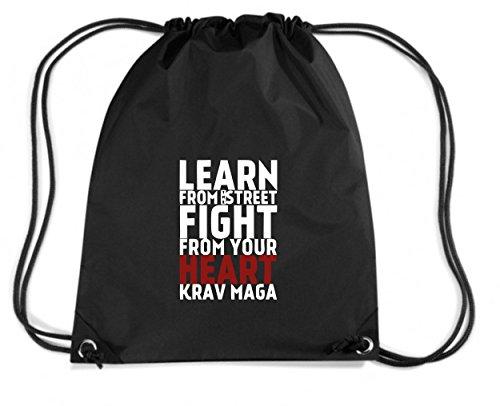t-shirtshock-mochila-budget-gymsac-tam0120-learn-from-the-street-krav-maga-red-heart-hoodie-talla-ca