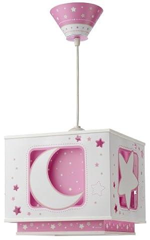 Dalber 63232S Hängeleuchte Rosafarbener Mond Kinderzimmer Lampe Leuchte (Mickey Mouse Lampe)