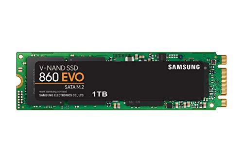 Samsung MZ-N6E1T0BW 860 EVO M.2 1 TB SATA M.2 Interne SSD Schwarz