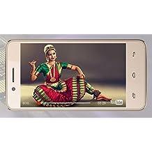 Micromax Bharat 2 10.16cm(4inch) 4G Androidphone(Q402) Internet(Champagne)