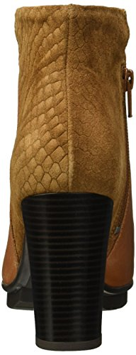 Marc Shoes Damen Edina Kurzschaft Stiefel Braun (brandy-combi 00026)