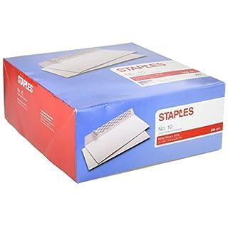 Heftklammern # 10, Easy Close Briefumschläge, 100/Box