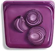 Stasher 100% siliconen voedselkwaliteit herbruikbare opbergtas, schemering (sandwich) | Plastic vrije lunchtas