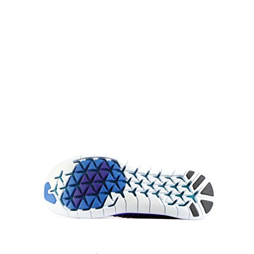 Nike Free Rn Motion Flyknit, Chaussures de Running Entrainement Homme Orange (concorde / blanc - bleu photo - noir)