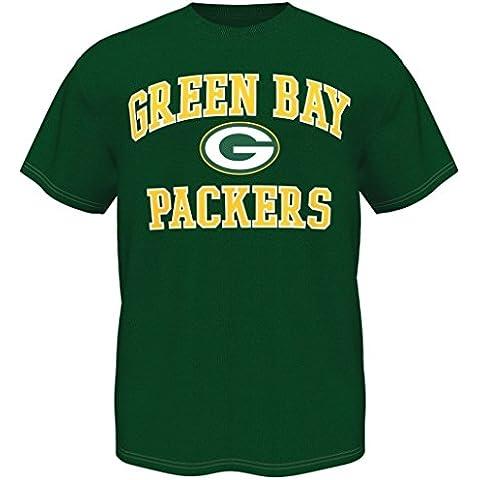 Green Bay Packers–Camiseta Jersey Póster de la bandera de gorro de para ropa de fútbol, verde, extra-large
