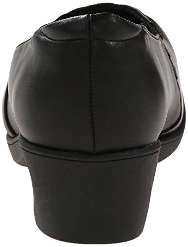 Soft Style by Hush Puppies Women's Kambra Slip-On Loafer, Black Burnished, 5.5 M US Black