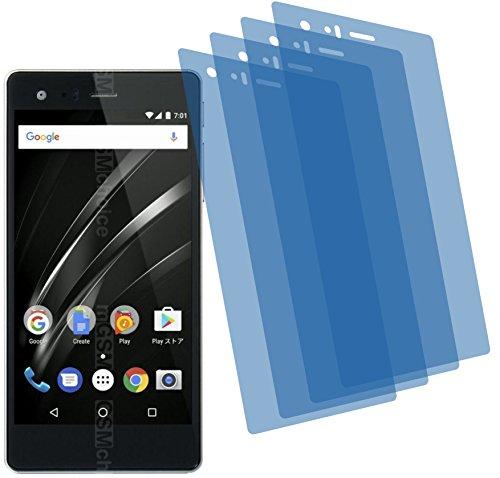 4ProTec 4X Crystal Clear klar Schutzfolie für Vaio Phone A Premium Bildschirmschutzfolie Displayschutzfolie Schutzhülle Bildschirmschutz Bildschirmfolie Folie