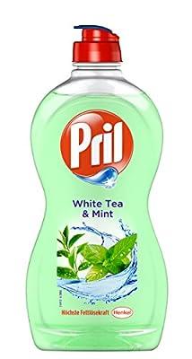 Pril Thé blanc & menthe liquide vaisselle concentré, lot de 14 (14 x 500 ml)