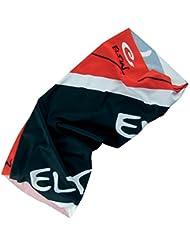 Eltin E4970 - Pañuelo braga unisex, color negro / rojo, talla única