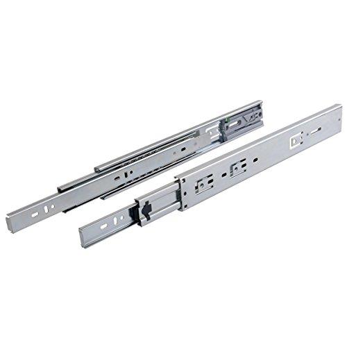 gliderite Platinum 55,9cm Push Open Kugellager Schublade Folien Full Verlängerung ft45001–22, FT45001-22 (Hardware-schublade-folien)