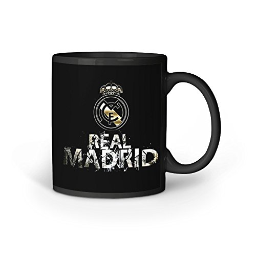 STURDY Colour Changing Coffee Mug, Printed Ceramic Tea Coffee Magic Mug 330 ml, Microwave and Dishwasher Safe, Real Madrid  available at amazon for Rs.540