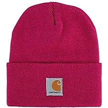 Carhartt Youth Watch Hat - Cerise Sombrero invierno esquiar Niños CHCB8905R88