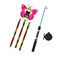 Balain Classic Toys Games Models fishing rod kite - bee