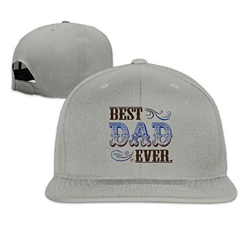 e4025fb4c1a1 Ejdkdo Best Dad Ever Swim Baseball Cap Snapback Custom for Man Unisex30