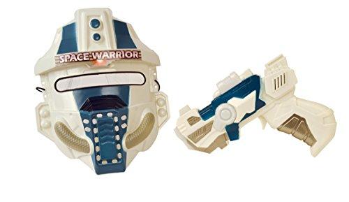 Preisvergleich Produktbild SunFun-858-29C-Pistole und Maske Space-Modell zufällige