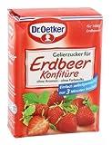 Dr. Oetker Gelierzucker für Erdbeer Konfitüre 500g