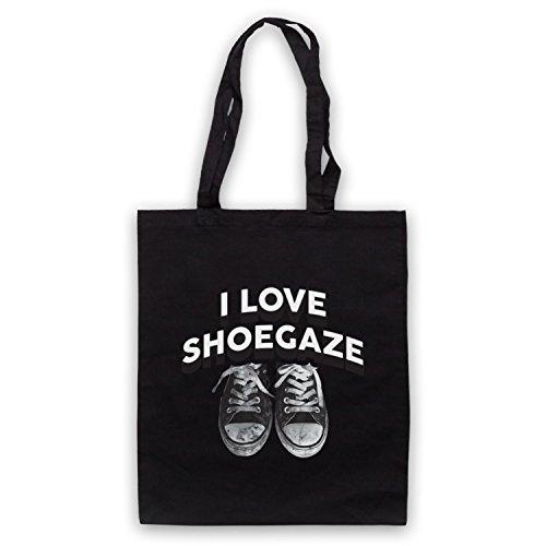 I Love Shoegaze Indie Alternative Rock Fan Umhangetaschen Schwarz