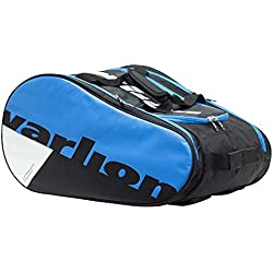 Varlion Ergonomic Azul - Paletero de pádel, Unisex Adulto, Azul/Negro/Blanco