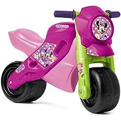 FEBER MotoFEBER 2 - Trotteur àRoues larges Disney Minney Mouse, pour Enfants de 3 à 5 ans (Famosa 800008369)