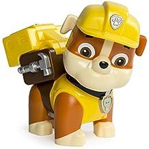 Paw Patrol – Jumbo Action Pup – Rubble – Mega Figura de Acción 15 cm La Patrulla Canina