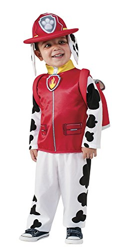 rubies-official-marshall-paw-patrol-fancy-dress-childrens-costume-117-cm-small