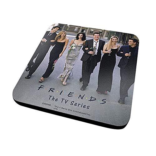 Genuine Friends Untersetzer, gegossen, für Getränke, TV Joey Ross Rachel Monica Phoebe Chandler - Chandler Chandler Platz