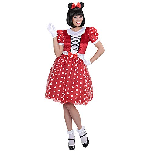 WIDMANN 01551 - Erwachsenenkostüm Mäuschen, Kleid und Ohren