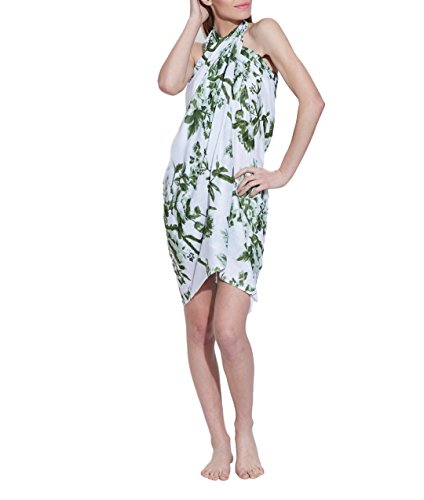 Sarong Wickel Strand-Vertuschungen für Frauen-Kleid-Baumwoll Voiles Light Weight Von India (Kleid Voile Baumwolle Seide)