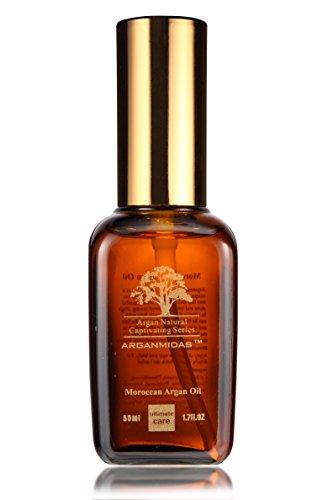 Argan Midas Moroccan Argan Oil – 50 ml – Traitement pour tous les types de peau et de cheveux