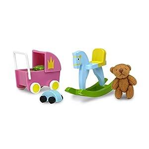 Lundby 60.5091.00 - Conjunto de Juguetes, Mini muñeca con Accesorios