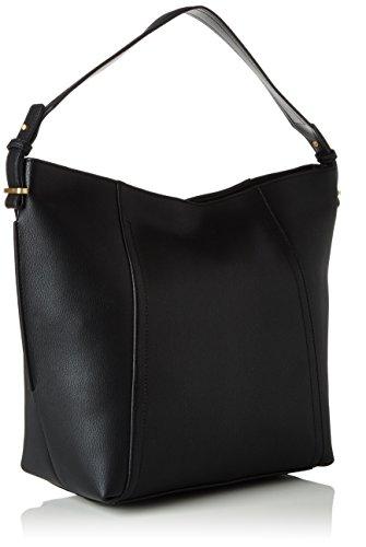 Calvin-Klein-Jeans-Damen-MYR4-HOBO-Schultertasche-Schwarz-Black