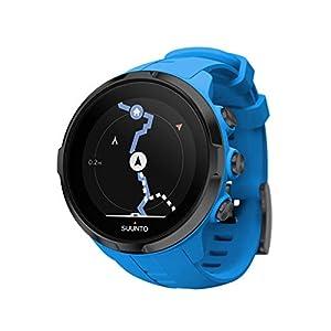 Suunto SS022663000 Spartan Sport Wrist HR - Reloj GPS Multideporte, sumergible hasta 100m, pulsómetro de muñeca, pantalla táctil de color, Azul, Talla única
