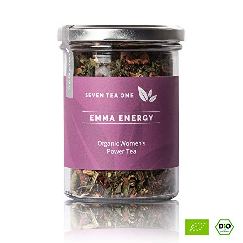 Emma Energy Frauenpower-Tee - Ayurvedische Kräutertee-Mischung - Körper, Geist und Seele in Balance - BIO-zertifiziert - 110g