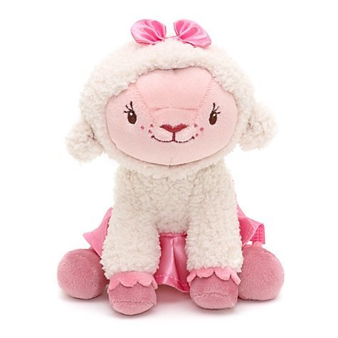 Doc McStuffins Lambie 18 cm mini bean bag plush toy Disney Junior - Mini-bean-bag