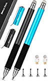 Dimples Excel Pennino Capacitivo Penna Stilo Pennio per Apple iPad PRO Mini Air Tablet Touch Samsung Tablet Smartphone Capacitiva con Ricambio Punte