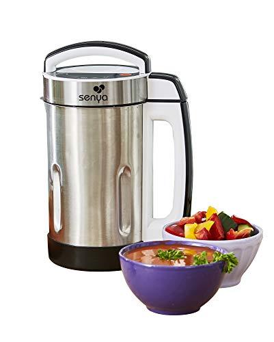 Senya Blender Chauffant INOX mixeur à Soupe Cook & Heat, 1.6 liters