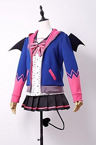 Fumam Love Live! Anime Lolita Connichi Cosplay Kostüm Nico Yazawa Uniform Damen M (Nico Yazawa Kostüm)