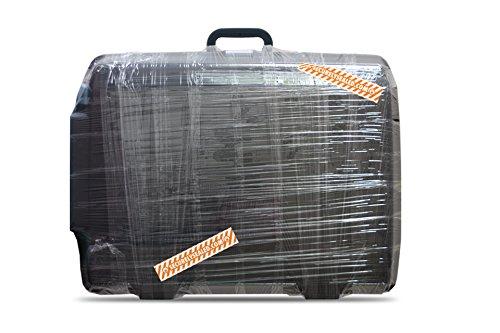 TNK Brand - SecurelySealed 2 Rollen- Sicherheitsfolie / Gepäckfolie / Kofferfolie / Klebefolie