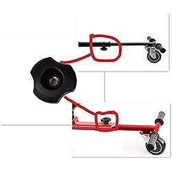 """Auto-équilibrage Hovercart Go Voiture Siège Hoverkart pour 6.5 """"8"""" 10 """"auto-équilibrage Scooter (Tornillo de barra)"""