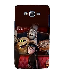 printtech Disneyy Hotel Transylvania Back Case Cover for Samsung Galaxy E7 / Samsung Galaxy E7 E700F