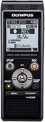 Olympus WS-853 - Grabadora de voz digital (8 GB, MP3, USB), negro