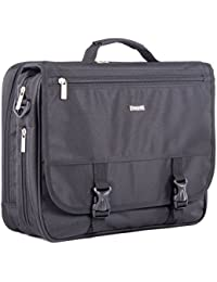"Bugatti Carrying Case [Backpack] for 15.6""Notebook, Accessories, Document - Black (exb531blk)"